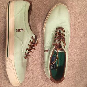 Mint Polo Ralph Lauren Vaughn Sneakers